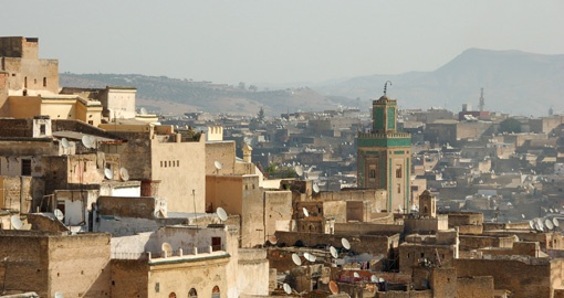 Visit the Medina in Fez on your Morocco tour