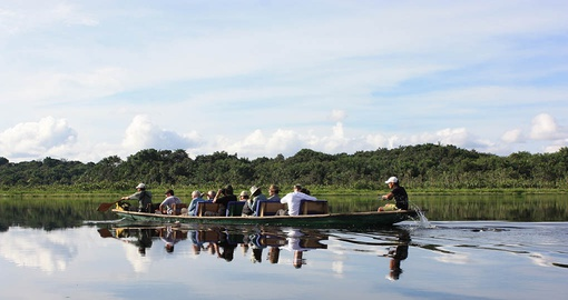 Have fun Exploring the Amazon on your trip to Ecuador