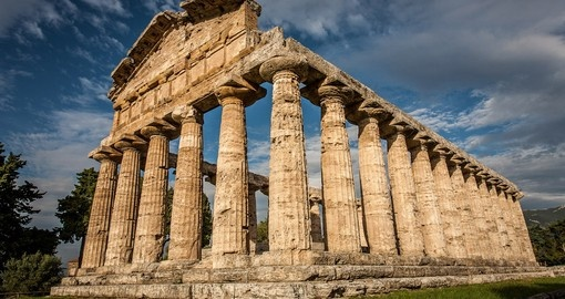 Explore ruins of Paestum on your next Europe tours.