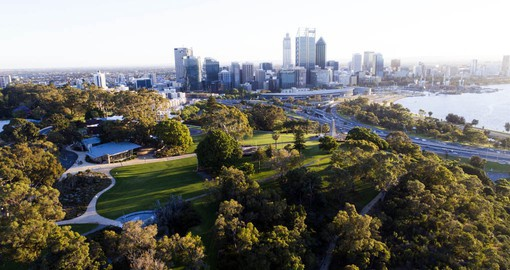 Beautiful views from Perth's Kings Park