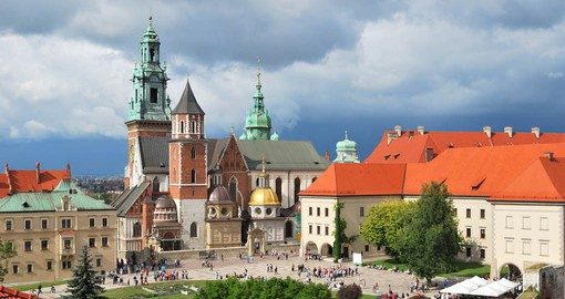 Poland's former royal capital, Krakow is a feast for architectural enthusiasts