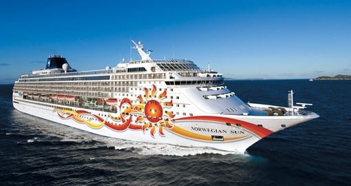Your South America Tour is aboard the Norwegian Sun