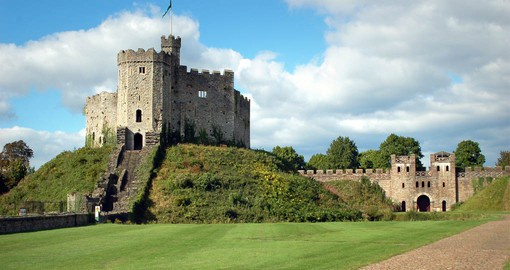 Cardiff Castle's walls and fairy-tale towers hold 2,000 years of history