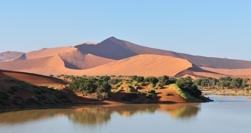 See the Soussusviei Dunes during your Namibia Safari.