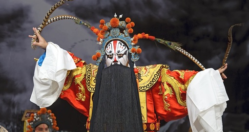 Traditional Chinese Opera Preformer