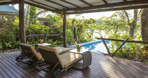 Experience all the amenities Savasi Island Villa can offer during your next trip to Fiji.