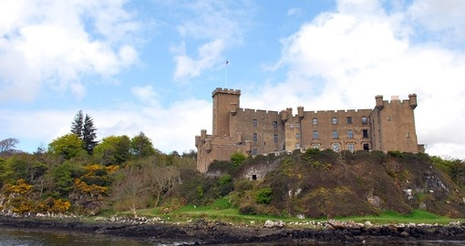Dunvegan Castle on the Island of Skye