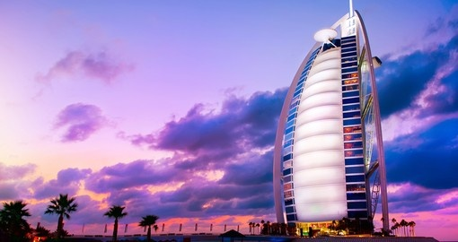 Experience all the amenities of The Burj Al Arab during your next trip to Dubai.
