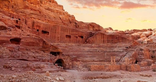 Explore the Amphitheatre during your next Jordan vacations.