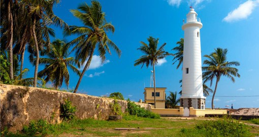 Galle Fort Lighthouse is one of the oldest lighthouses in Sri Lanka dating from 1939