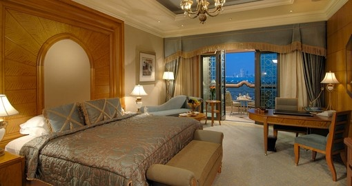 Experience all the amenities Kempinski Emirates Palace can offer during your next Abu Dhabi vacation.