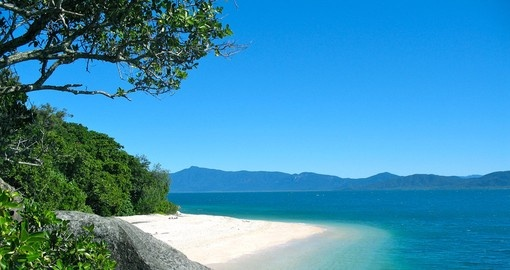 Explore the hidden Paradise on Fitzroy Island during your Australia tours.