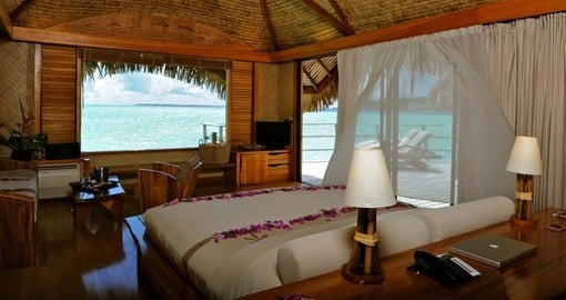 Wake up to stunning views when you book one of of our Tahiti vacations