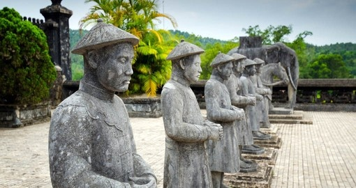 Your Vietnam Vacation visits the Tomb of Khai Dinh near Hue