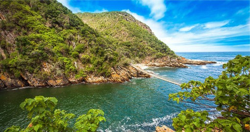 "Tsitsikamma is a Khoi word meaning ""place of abundant or sparkling water"" and is part of the Garden Route"