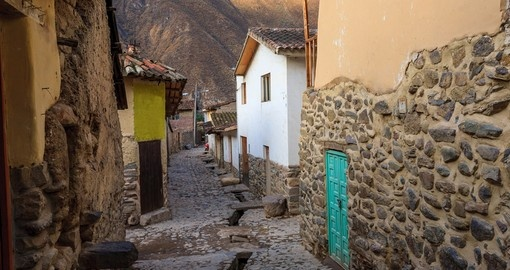 Explore the village of Ollantaytambo on your next trip to Peru.