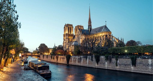 A masterpiece of Gothic architecture, Notre-Dame de Paris is the most visited monument in France