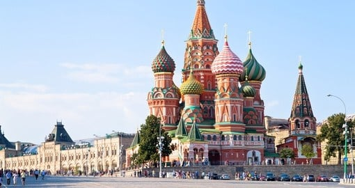 Your russia vacation begins in Moscow