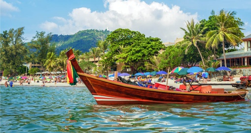 Traditional Thai Long Boat, Kata Beach