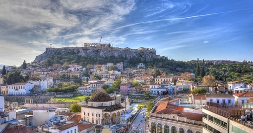 Your Greece tour starts in Athens.