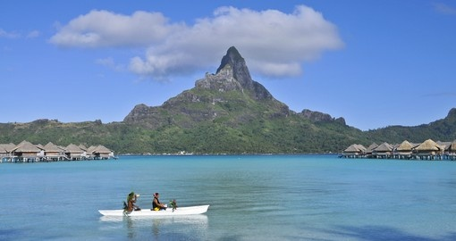 Have a wonderful time on your traditional ride during your next Tahiti vacations.
