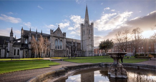 For over 800 years, St. Patrick's has been one of the most important pilgrmage site in Ireland