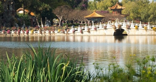 Stroll through Daguan Park on your China tour