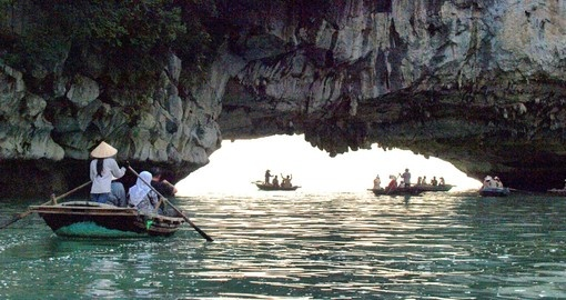 One of Vietnam's most popular tourist destinations