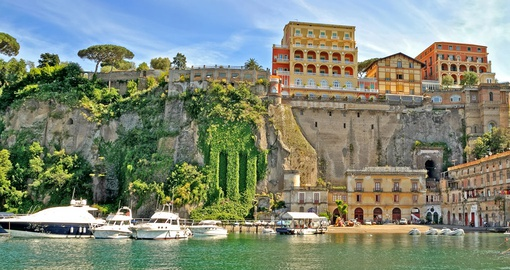 Enjoy the slower pace of Sorrento on your Italy vacation