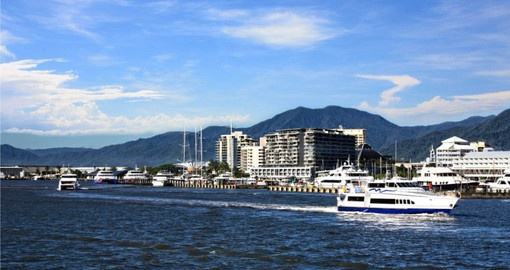 Begin your Australia vacation in Cairns, gateway to the Great Barrier Reef