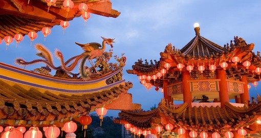 Thean Hou Gong - a six-tiered Chinese temple in Kuala Lumpur