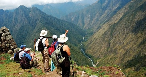 Spectacular views from Peru's Inca Trail