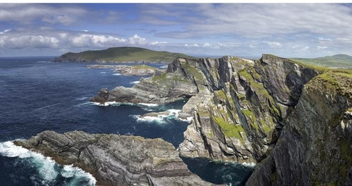 Stunning scenery on the Ring of Kerry is part of Ireland Tours