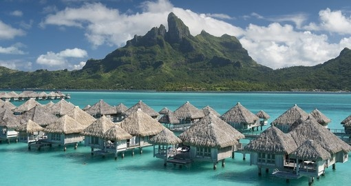 Stay and enjoy in Overwater Bungalows at St. Regis Bora Bora on your next Tahiti vacations.