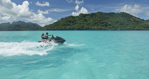 Jet ski tour of the lagoon
