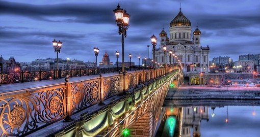See the Cathedral of Christ the Saviour Church in Moscow during your tour in Russia.