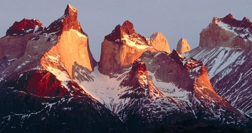 Experience the amazing Torres del Paine on your trip to Chile