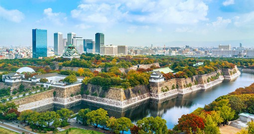 Osaka, Japan's second largest city is an economic powerhouse that drives the Kansai Region