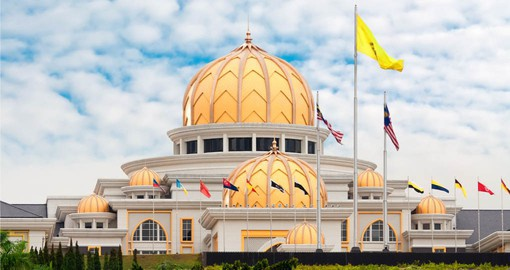 The Istana Negara is the official residence of the Yang di-Pertuan Agong, the monarch of Malaysia