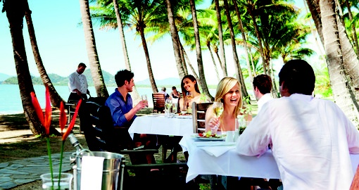 Palm Cove dining