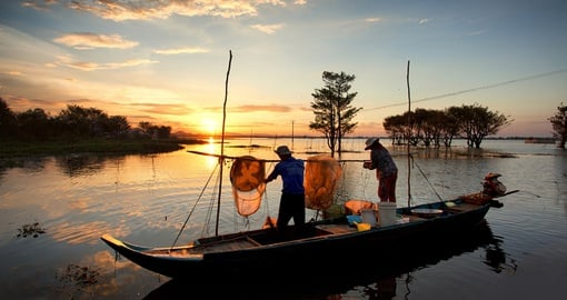 Learn about local trade and culture on the Mekong Delta on your Vietnam vacation