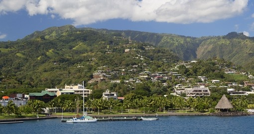 Your Tahiti Vacation begins in Papeete