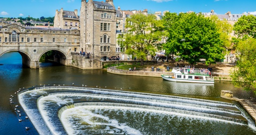 Pulteney Bridge River Avon, Bath