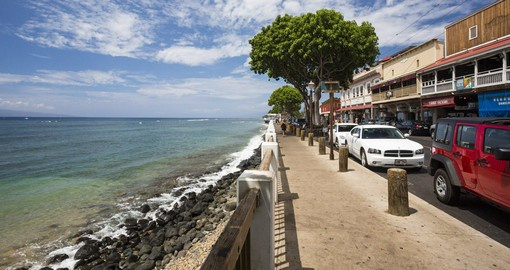 Lahaina, Maui.  Image courtesy of Hawaii Tourism Authority and Tor Johnson
