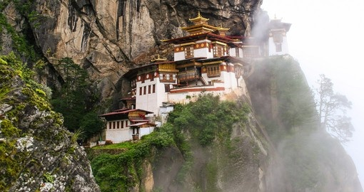 Taktsang Palphug Monastery (The Tigers Nest)