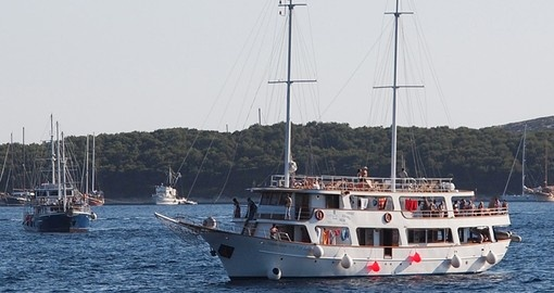 Cruising in  Kvarner Bay during your next trip to Croatia.