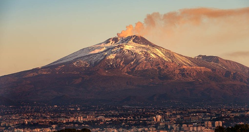 Learn the history of Mt Etna on your trip to Italy