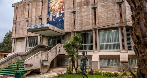 The National Museum of Ethiopia is included on most Addis Ababa tours.