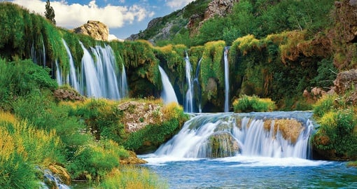 See Veliki Buk Waterfall on your Croatia Vacation