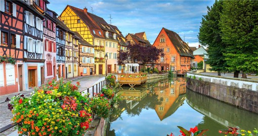 The capital of the Alsacian wines, Colmar is often referred to as the Small Venice